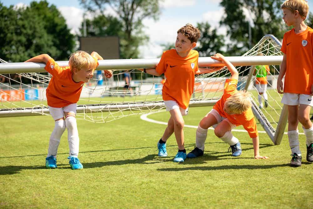 Ubuntu Voetbalkamp in Hilversum in de herfstvakanie van 2022 2 dagen