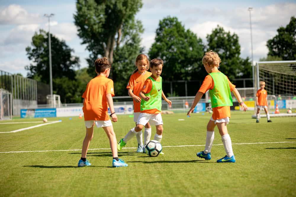 Ubuntu Voetbalkamp in Hilversum in de zomervakantie van 2022 3 dagen