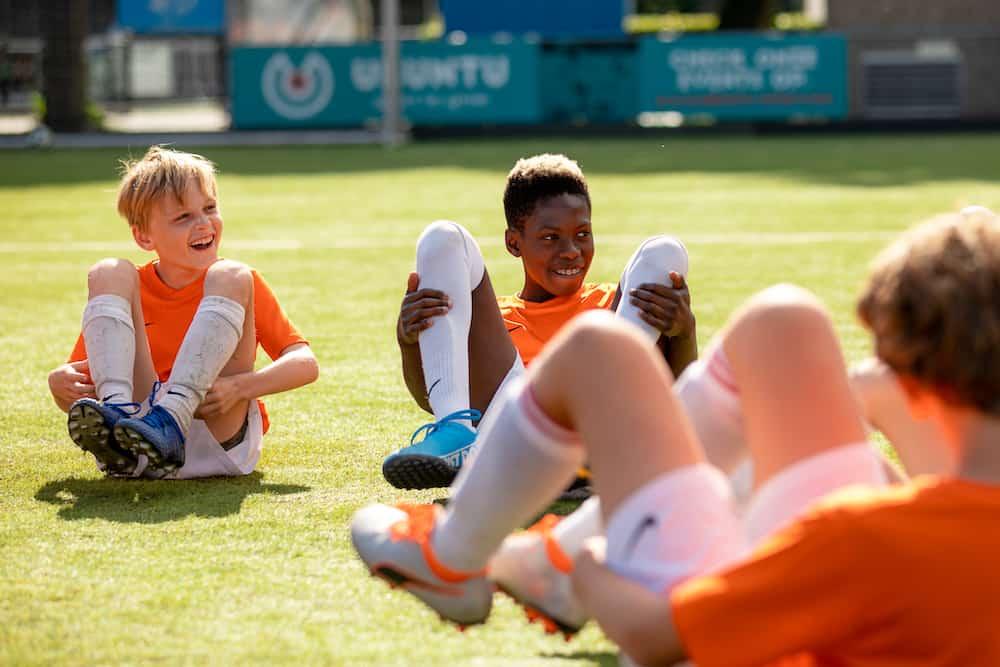 Ubuntu Voetbalkamp in Utrecht in de zomervakantie van 2022 3 dagen