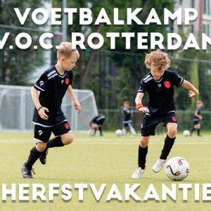 V.O.C. Voetbalkamp in Rotterdam in de herfstvakantie 2021