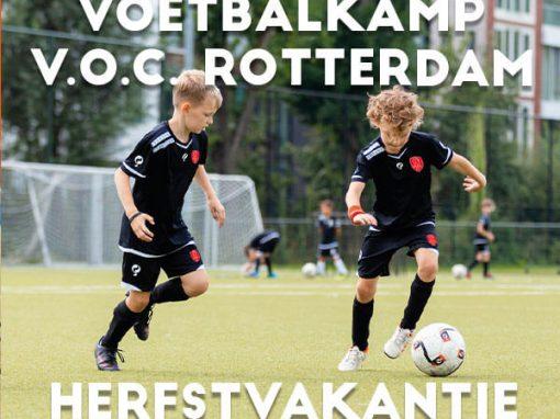 V.O.C. Voetbalkamp in de herfstvakantie