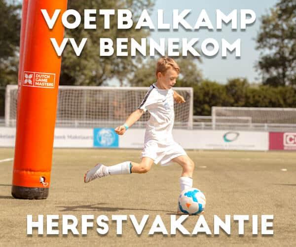VV Bennekom Voetbalkamp in de herfstvakantie 2021